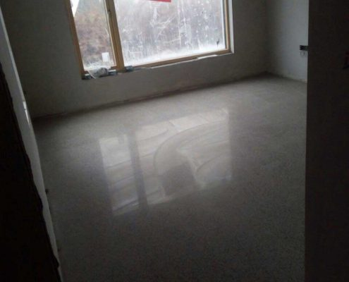 Floor Finish in a house