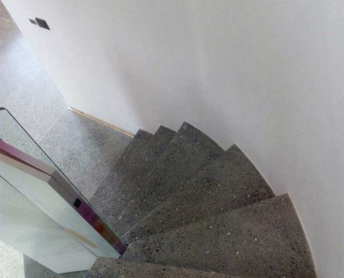 Concrete Polished Stairs image