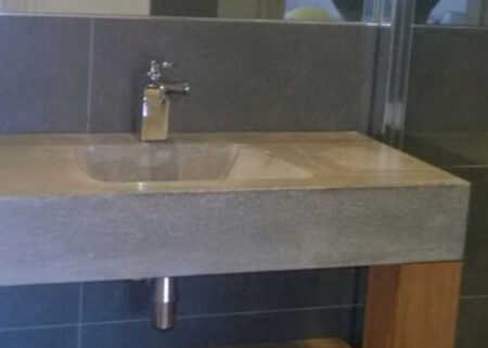 Concrete Polished Sink