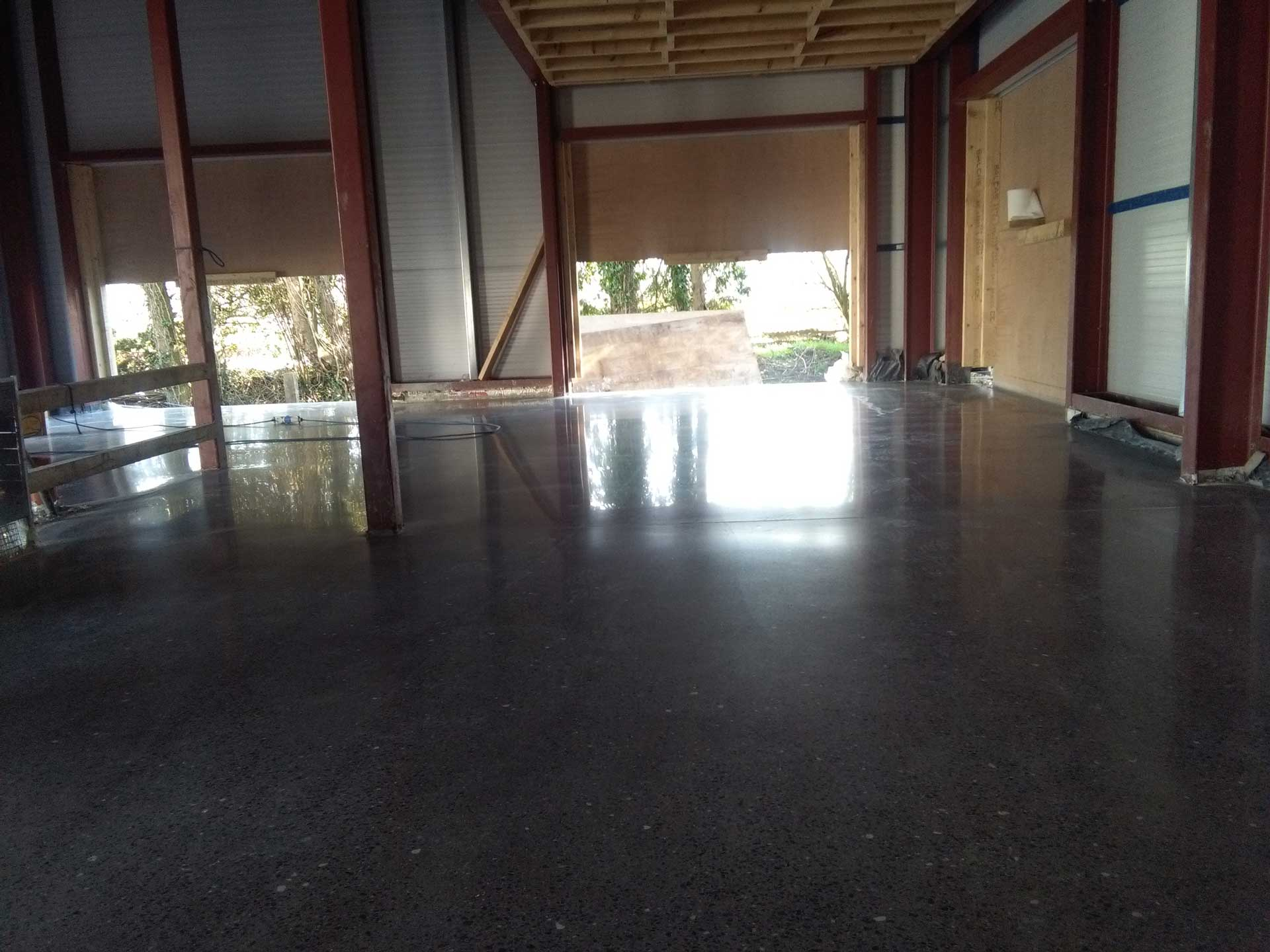 Polished Concrete Floor industrial interior