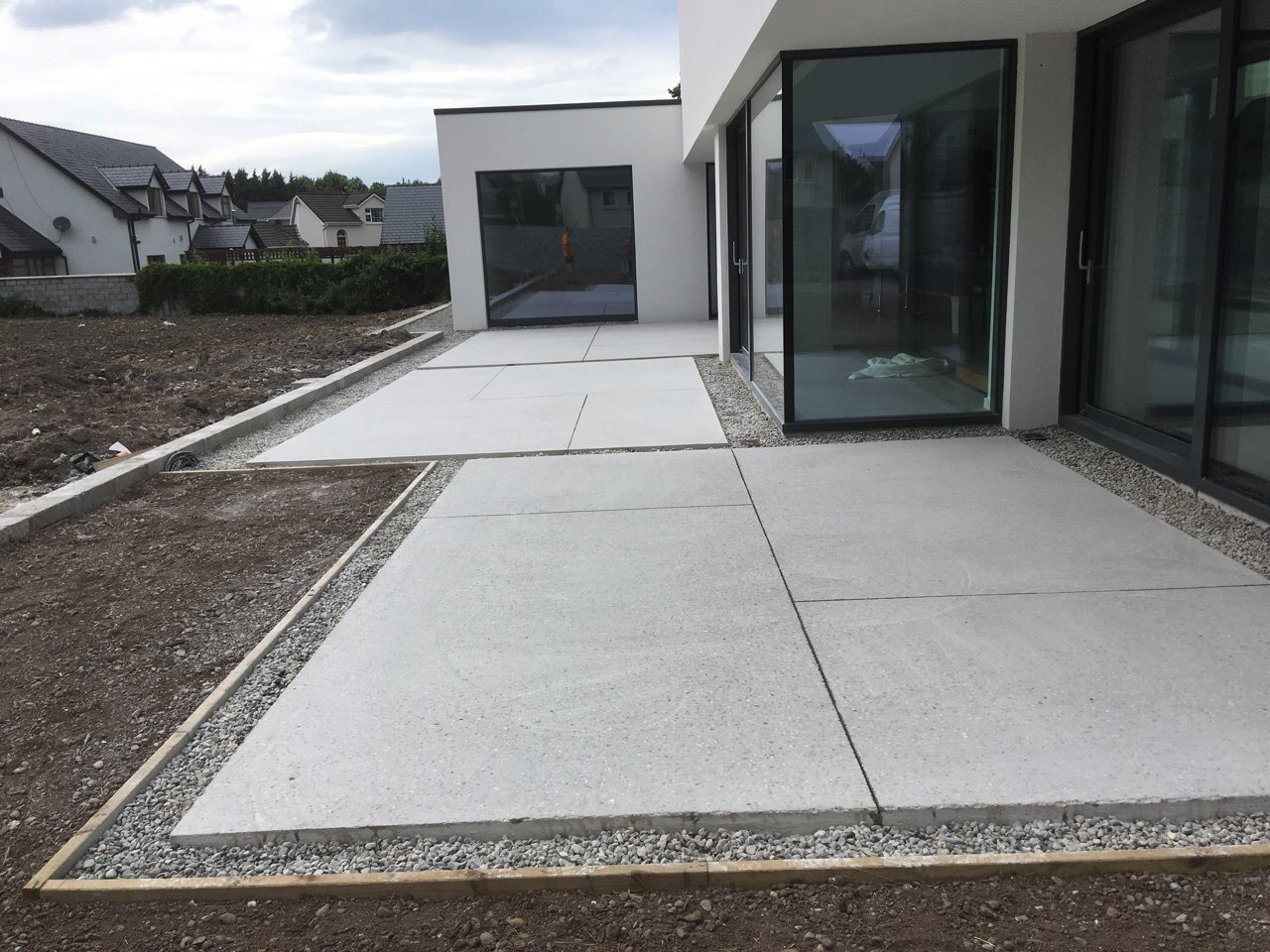 External Polished Concrete Outdoor