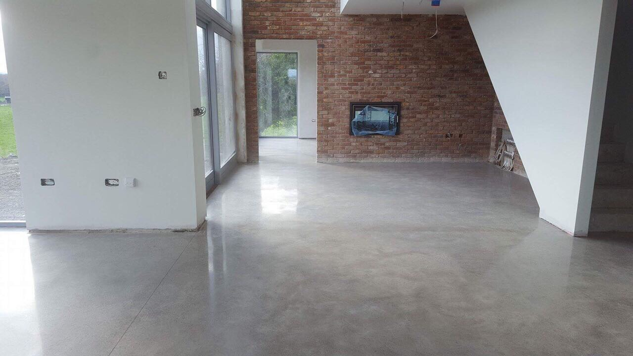 Polished Concrete Floor grinding and sealing